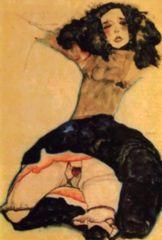 EgonSchiele. RagazzaDaiCapelliNeri(1911)
